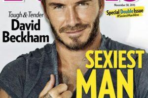 Sin embargo, fue varios años después del retiro que se le consideró el hombre más sexy del planeta. Foto:Vía instagram.com/davidbeckham. Imagen Por: