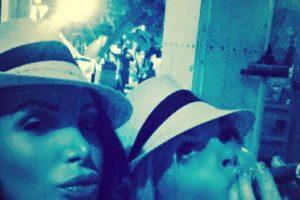 Aquí aparece con Jessie J, otra actriz porno. Foto:vía Instagram/nikkibenz. Imagen Por: