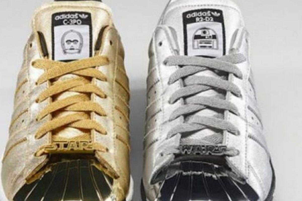 Hay zapatos para todos los que amen la saga y van en colores versátiles. Foto:vía Adidas. Imagen Por: