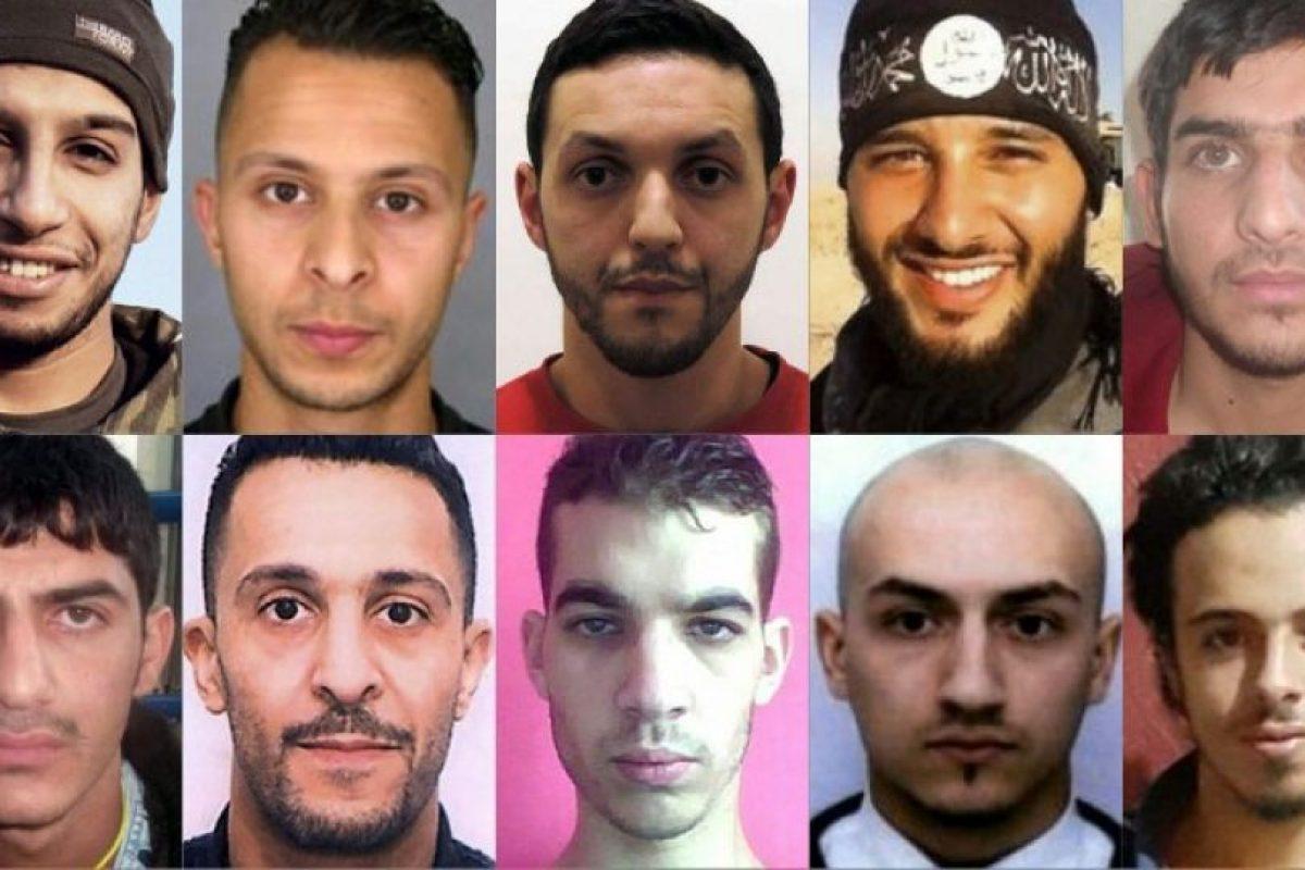 Salah Abdeslam es uno de los 12 terroristas buscados por los atentados del 13-N de París Foto:AFP. Imagen Por:
