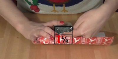 Para evitar un papelón: tutorial enseña a envolver regalos como experto