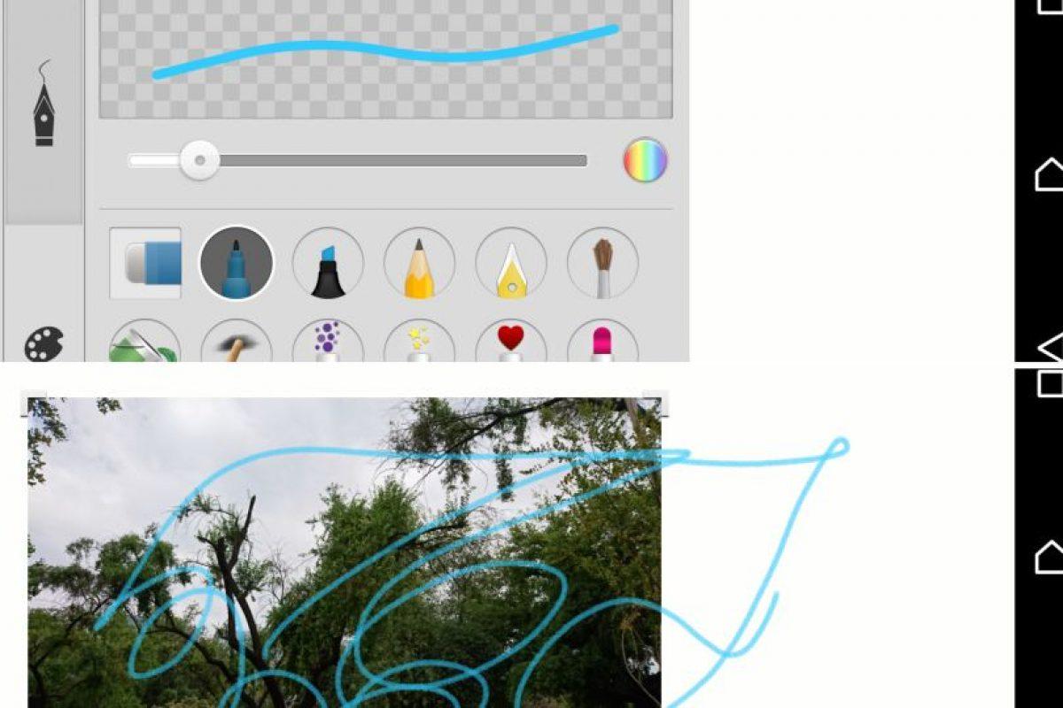 El editor de imágenes ofrece múltiples posibilidades. Foto:Publimetro / Víctor Jaque. Imagen Por: