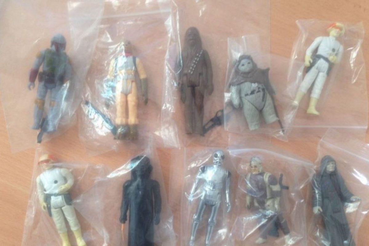 Se trata de una colección de 62 figuras antiguas en perfectas condiciones. Foto:vía ebay.com. Imagen Por: