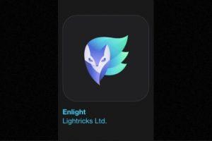 """2- """"Enlight"""". Cuesta cuatro dólares y convierte sus fotos en obras de arte con la app de edición más completa. Foto:Apple. Imagen Por:"""
