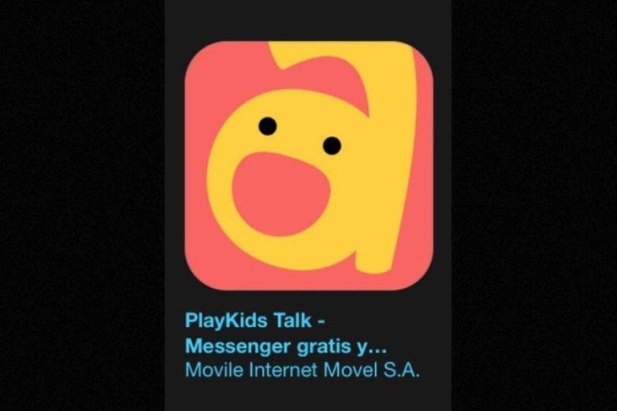 """4- """"PlayKids Talk – Messenger gratis y seguro para los niños, familia y amigos"""". Designada como la más innovadora y funciona para enviar o recibir mensajes de forma segura, sencilla y divertida. Foto:Apple. Imagen Por:"""