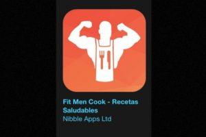 """9- """"Fit Men Cook – Recetas Saludables"""". Cuesta tres dólares y podrán encontrar la mejor manera de preparar 150 de las recetas más populares de Kevin Curry, fundador de Fit Men Cook. Foto:Apple. Imagen Por:"""