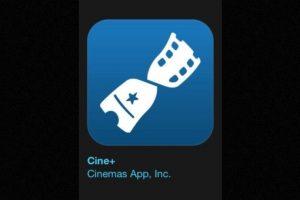 """10- """"Cine+"""". Es gratuita y muestra la cartelera de cinemas en México. Foto:Apple. Imagen Por:"""