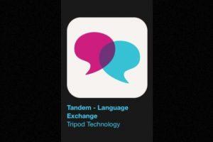 """12- """"Tandem – Language Exchange"""". Es gratuita y les ayuda a encontrar verdaderos hablantes nativos para un aprendizaje de idiomas que es fácil, rápido y divertido. Foto:Apple. Imagen Por:"""
