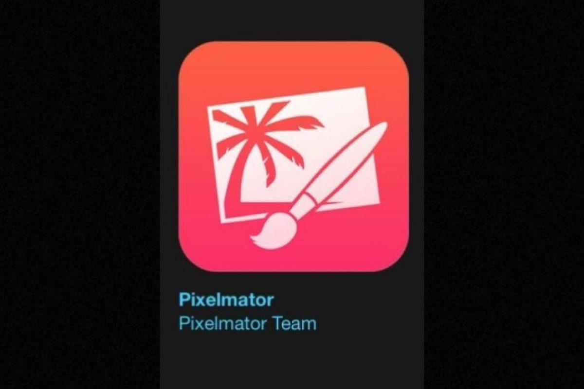 """15- """"Pixelmator"""". Cuesta cinco dólares y se trata de un editor de imagen que proporciona todo lo necesario para crear, editar y mejorar sus imágenes. Foto:Apple. Imagen Por:"""