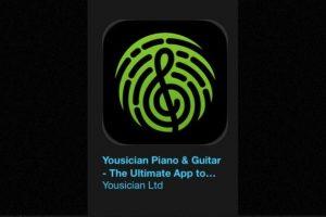 """19- """"Yousician Piano & Guitar – The Ultimate App to Learn Songs"""". Es gratuita. Se trata de un tutor personal de música para la era digital. Foto:Apple. Imagen Por:"""