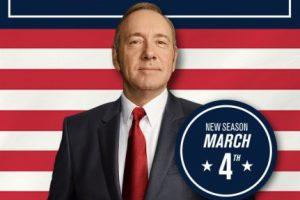 "El póster de la cuarta temporada de ""House of Cards"". Foto:twitter.com/HouseofCards. Imagen Por:"