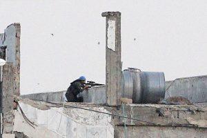 Los extremistas islámicos murieron en el acto. Foto:Getty Images. Imagen Por: