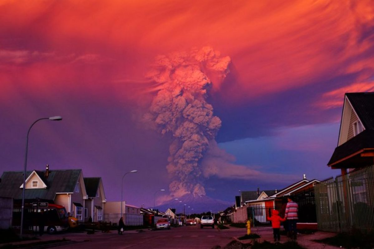 La acción de la naturaleza. Foto:AFP. Imagen Por: