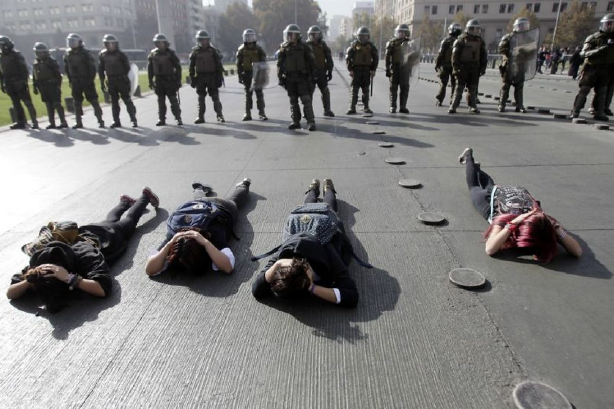 Los movimientos sociales también tuvieron un lugar en la agenda pública. Foto:AFP. Imagen Por: