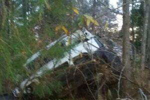 El conductor tuvo varias heridas, pero no de gravedad. Foto:vía Facebook/Michael Clary. Imagen Por: