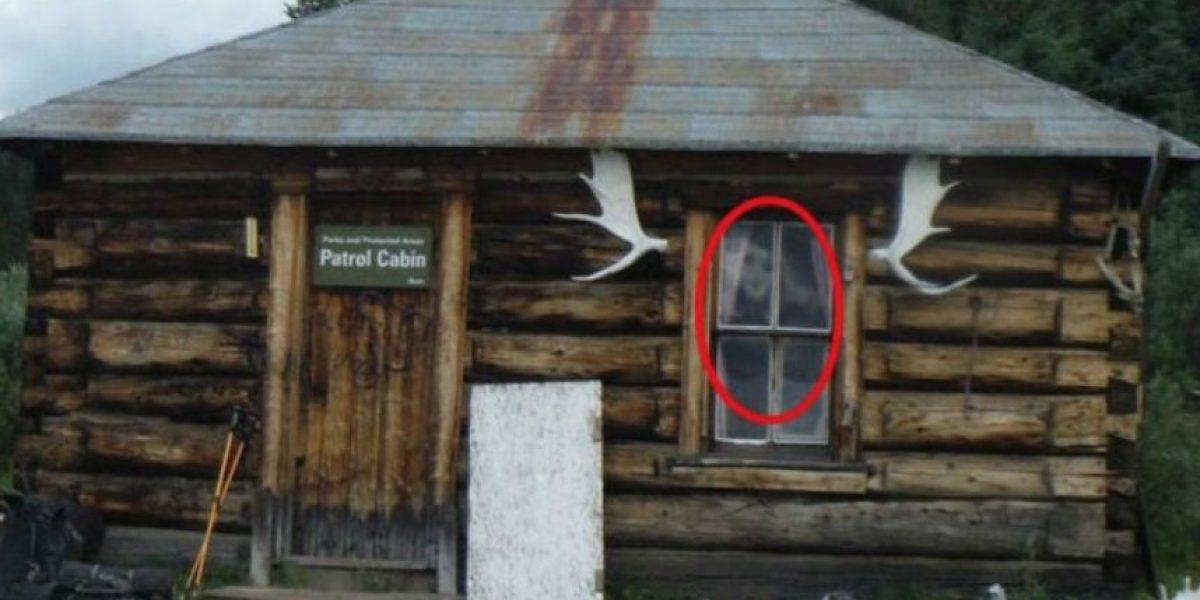 12 escalofriantes figuras captadas en ventanas