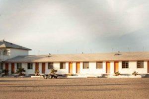 """12. Un fotógrafo decidió tomar imágenes a un motel abandonado en Amboy, California. Sin embargo, nunca pensó que encontraría algo """"espeluznante"""". Foto:Vía Reddit. Imagen Por:"""