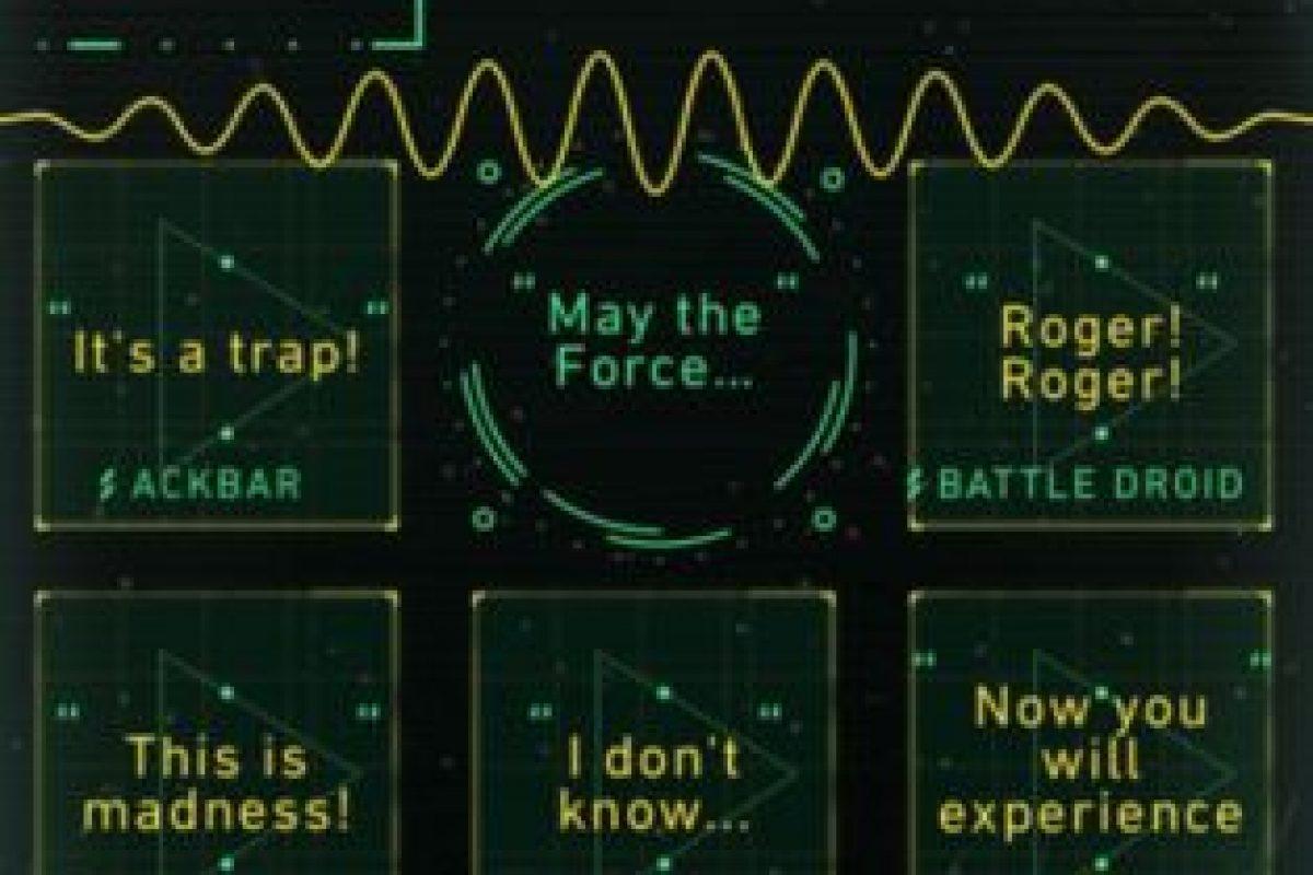 Notas clásicas y efectos de sonido de la película. Foto:Disney. Imagen Por: