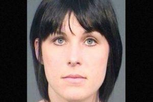 Nadia Cristina Díaz fue arrestada por supuestamente tener relaciones sexuales con un estudiante de 14 años. Foto:Fresno County Jail. Imagen Por:
