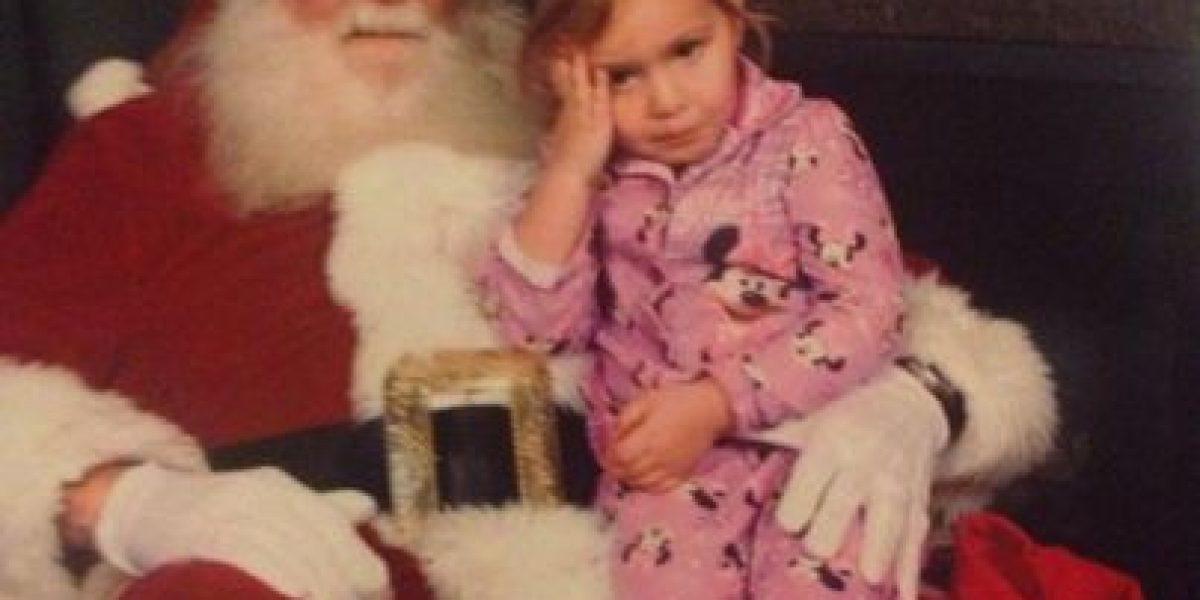 Galería: estos niños no lo pasan nada bien en la típica foto navideña