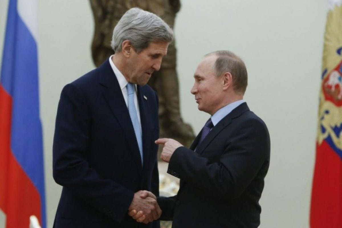 El día de ayer se reunió con el Secretario de Estado de Estados Unidos, John Kerry Foto:AFP. Imagen Por: