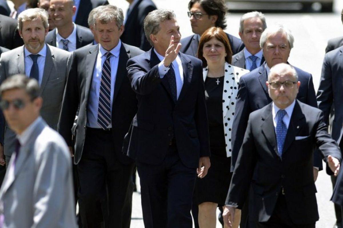 """""""Hay un sendero a una economía estable, para mejorar el andamiaje institucional y dar un paso más para la normalización de la economía"""", señaló. Foto:AFP. Imagen Por:"""