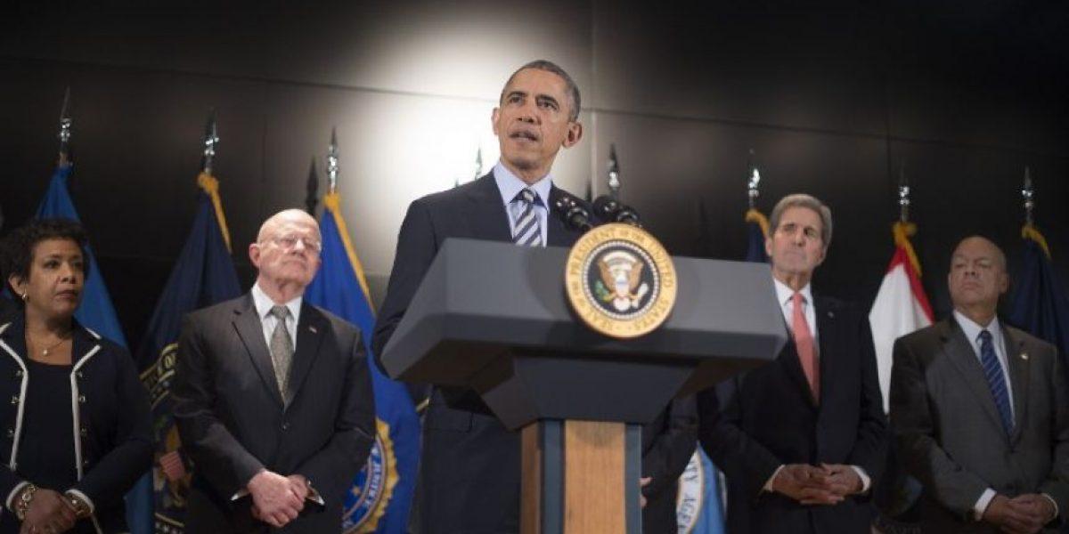 Obama pide a su país estar unido en la lucha contra el terrorismo