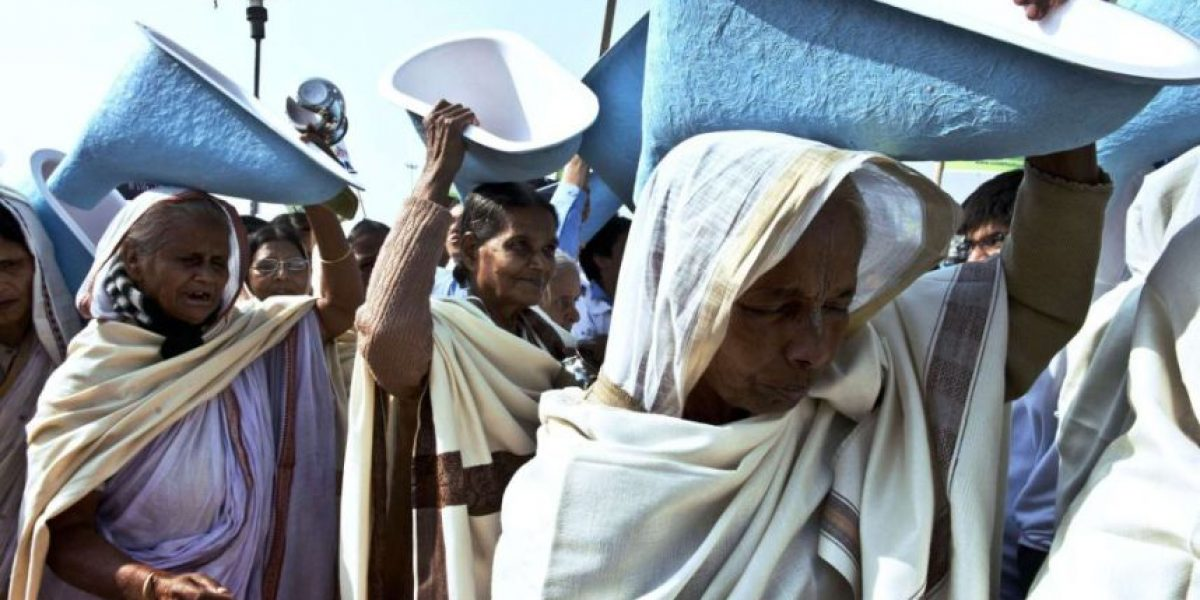 ¿Sabías que un requisito para ser candidato en la India es tener un inodoro?