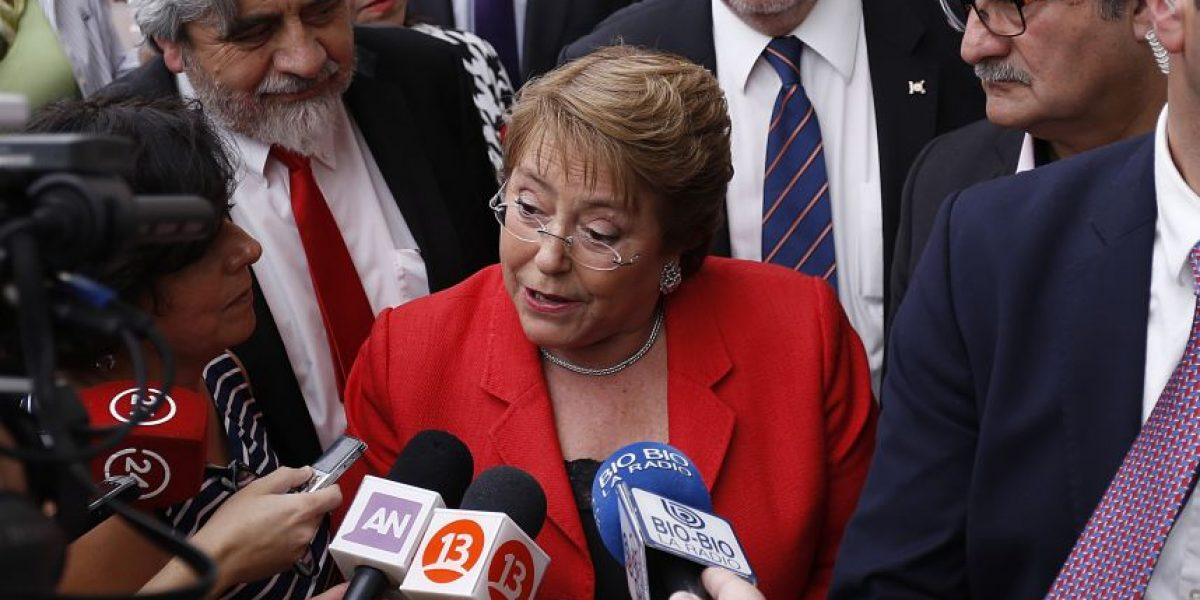 Bachelet y fallo del TC: