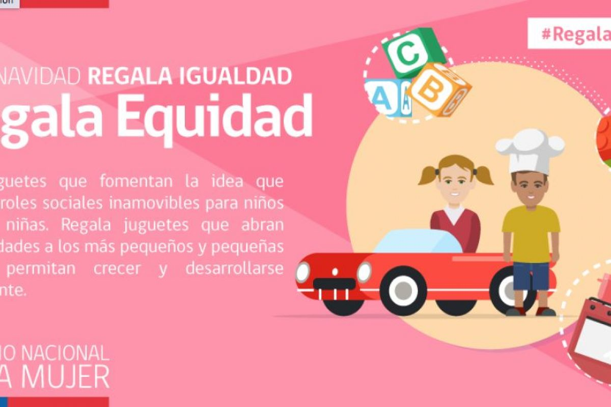 """Foto:Campaña """"Regala Igualdad"""" / Sernam. Imagen Por:"""