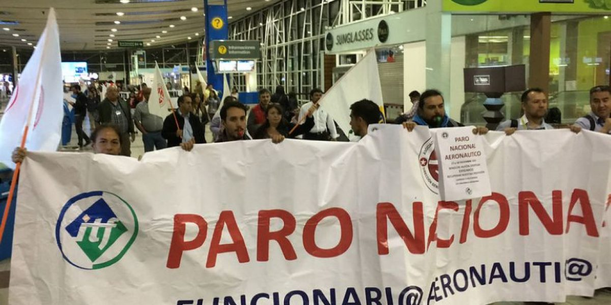 Paro de la DGAC: aeropuertos funcionan con