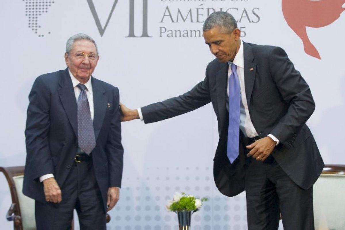 El 17 de diciembre el presidente de Estados Unidos, Barack Obama y el presidente de Cuba Raúl Castro anunciaron el restablecimiento de sus relaciones diplomáticas. Foto:AP. Imagen Por: