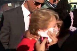 La presidenta de Chile Michelle Bachelet fue agredida el pasado mayo con un escupitajo en la cara durante su campaña política. Foto:Reproducción. Imagen Por: