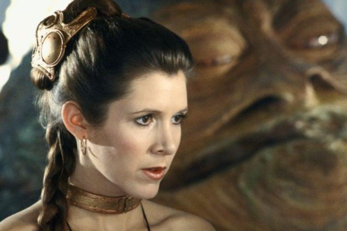 """""""Princesa Leia Organa"""" en """"Star Wars: El regreso del Jedi"""" Foto:IMDb. Imagen Por:"""