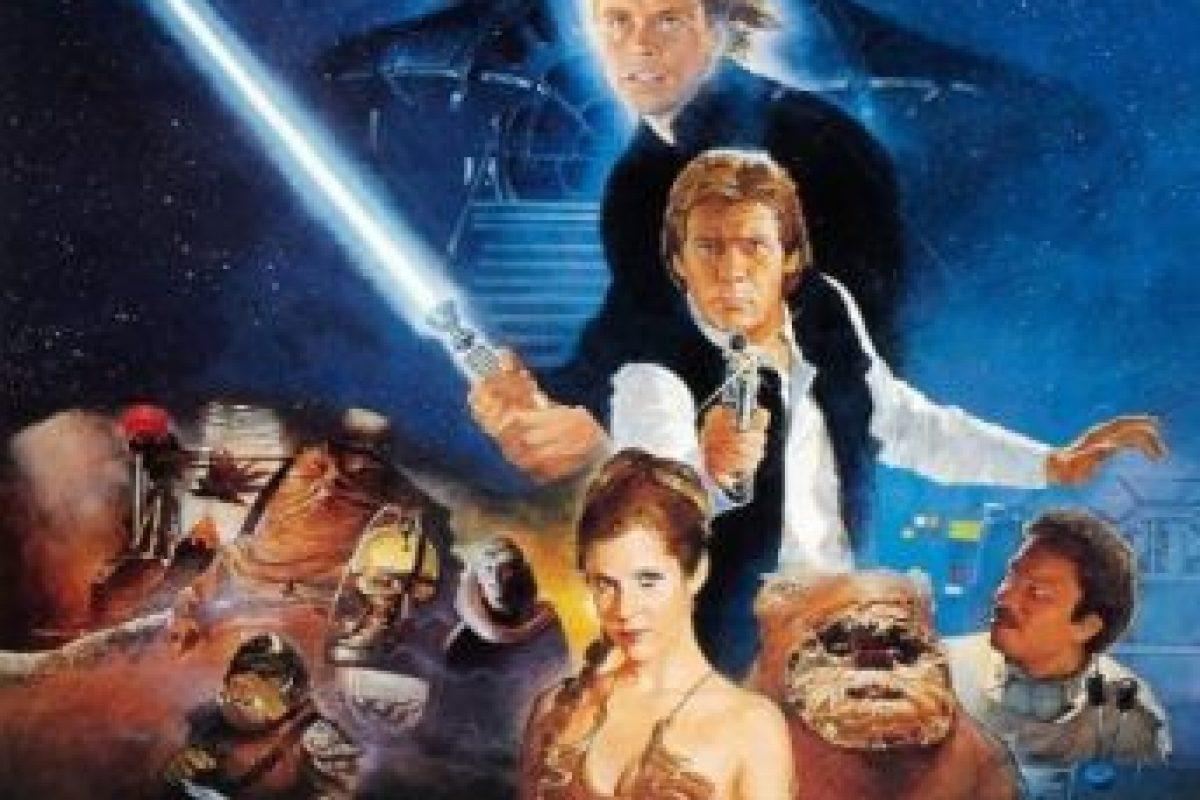 """""""Star Wars Episodio VI: El regreso del Jedi"""" se estrenó el 25 de mayo de 1983. Foto:IMDb. Imagen Por:"""