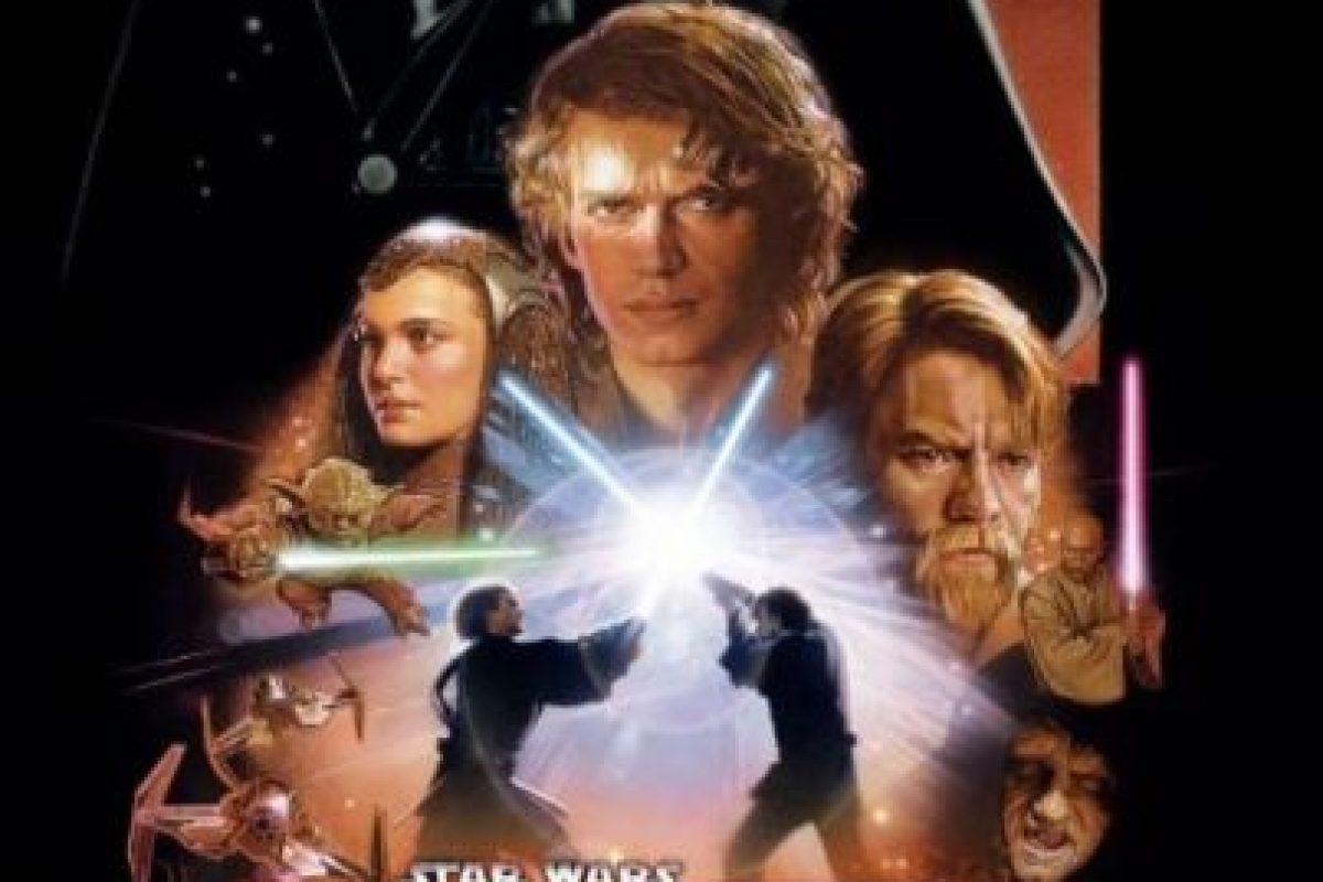 """""""Star Wars Episodio III: La venganza de los Sith"""" se estrenó el 19 de mayo de 2005. Foto:IMDb. Imagen Por:"""