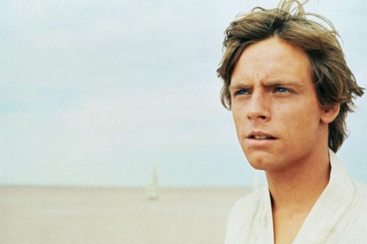 """""""Luke Skywalker"""" en """"Star Wars: Una nueva esperanza"""". Foto:IMDb. Imagen Por:"""