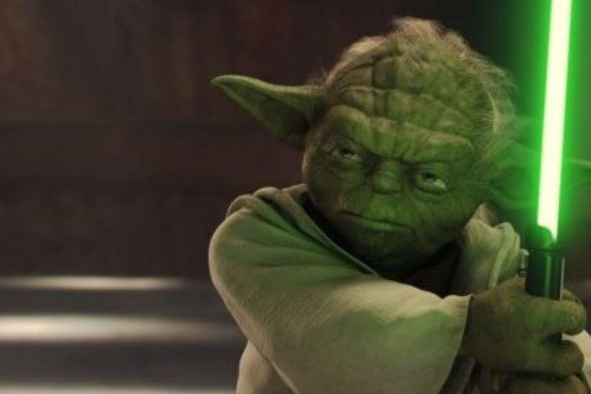 """""""Yoda"""" en """"Star Wars: El ataque de los Clones"""" Foto:IMDb. Imagen Por:"""