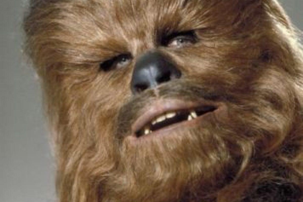 """""""Chewbacca"""" en Star Wars: Una nueva esperanza"""" Foto:IMDb. Imagen Por:"""