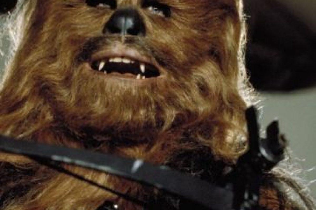 """""""Chewbacca"""" en """"Star Wars: El regreso del Jedi"""" Foto:IMDb. Imagen Por:"""