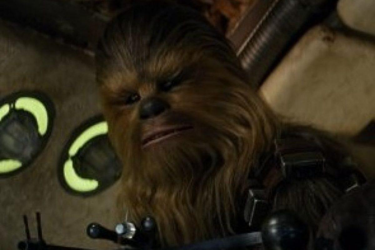 """""""Chewbacca"""" en """"Star Wars: El despertar de la fuerza"""" Foto:IMDb. Imagen Por:"""