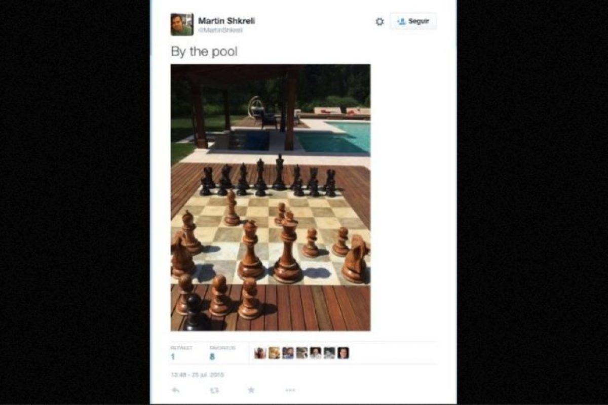 """En la piscina"" Foto:Twitter.com – Archivo. Imagen Por:"