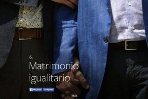6- Matrimonio igualitario. Foto:vía facebook.com. Imagen Por: