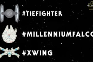 "Así lucen los emojis de ""Star Wars"" en Twitter Foto:vía Twitter.com. Imagen Por:"