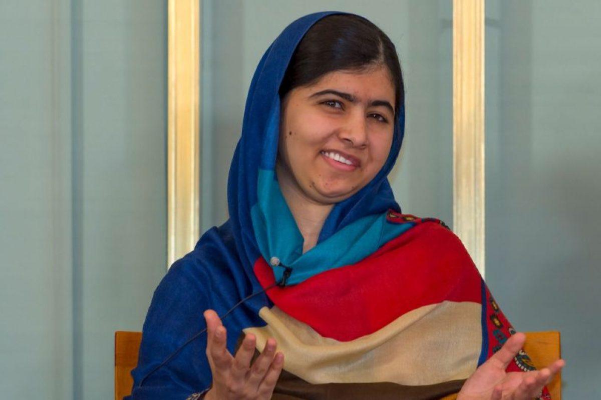 Malala Yousafzai es es una estudiante, activista y bloguera pakistaní. Foto:Getty Images. Imagen Por: