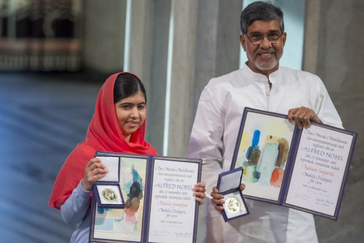 Ganadora del Premio Nobel de la Paz en 2014 Foto:Getty Images. Imagen Por:
