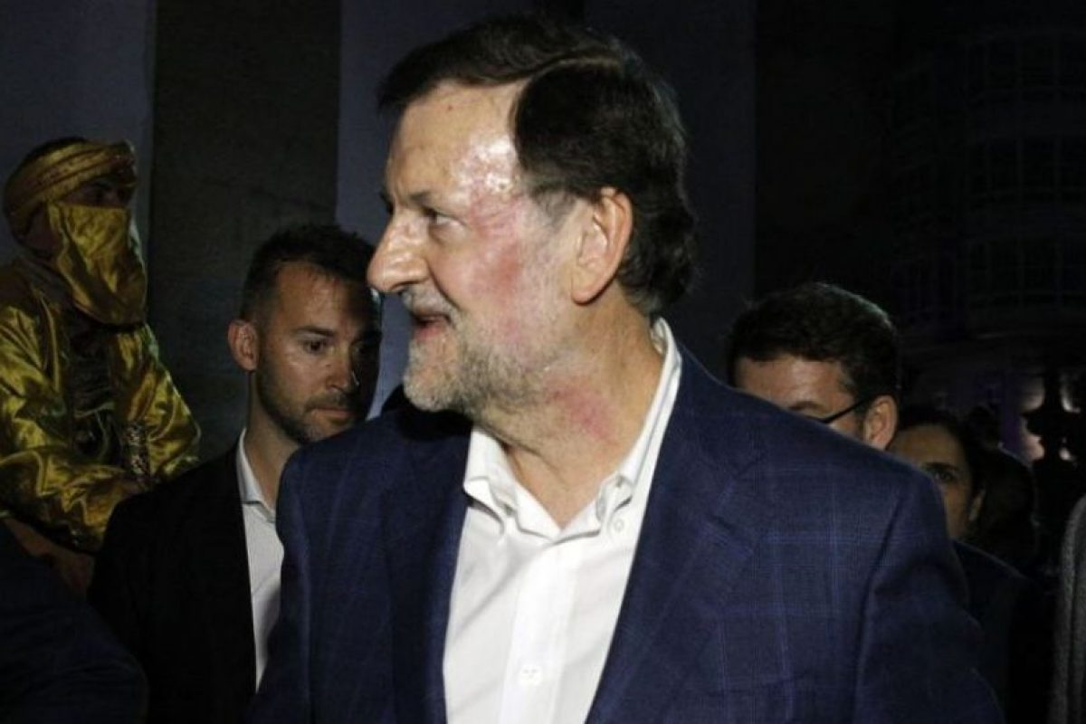 La agresión al presidente del Gobierno, Mariano Rajoy de ayer no fue la única Foto:Reproducción. Imagen Por: