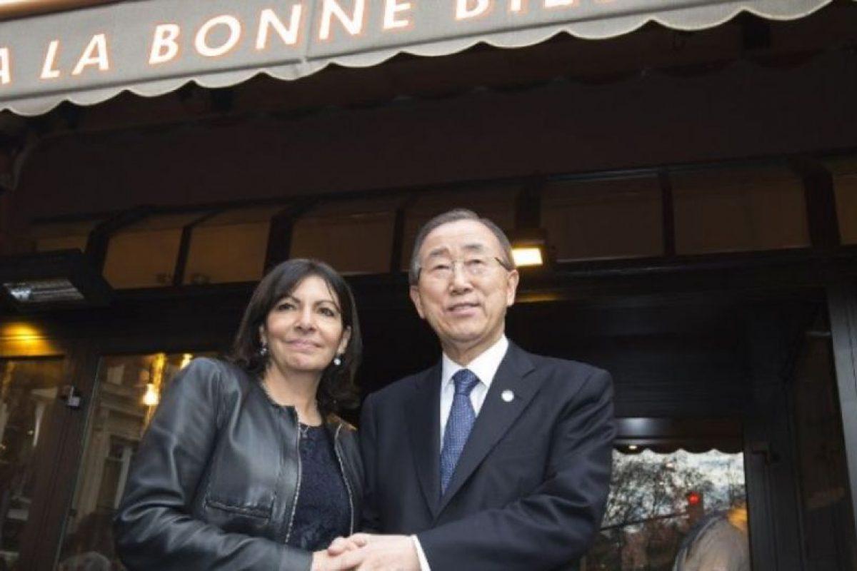 Ban ki-Moon, secretario general de las Naciones Unidas. Foto:AFP. Imagen Por: