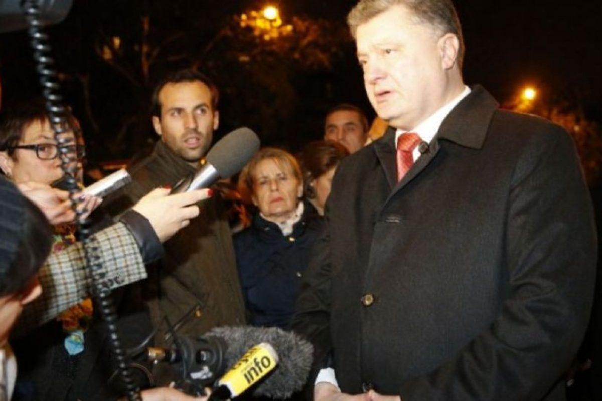 Petro Poroshenko, presidente de Ucrania. Foto:AFP. Imagen Por: