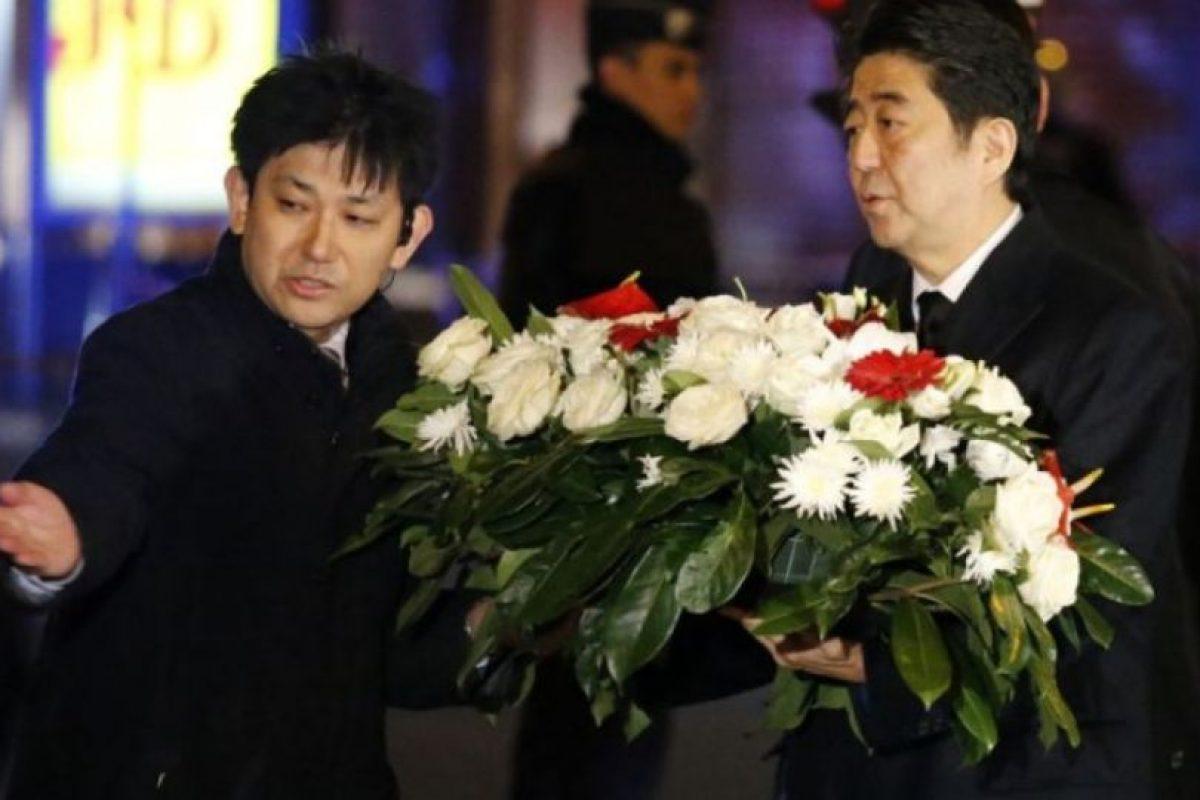 Shinzo Abe, primer ministro de Japón. Foto:AFP. Imagen Por: